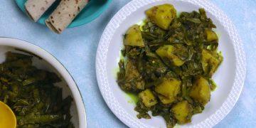 Gawar Phali Aloo Sabji
