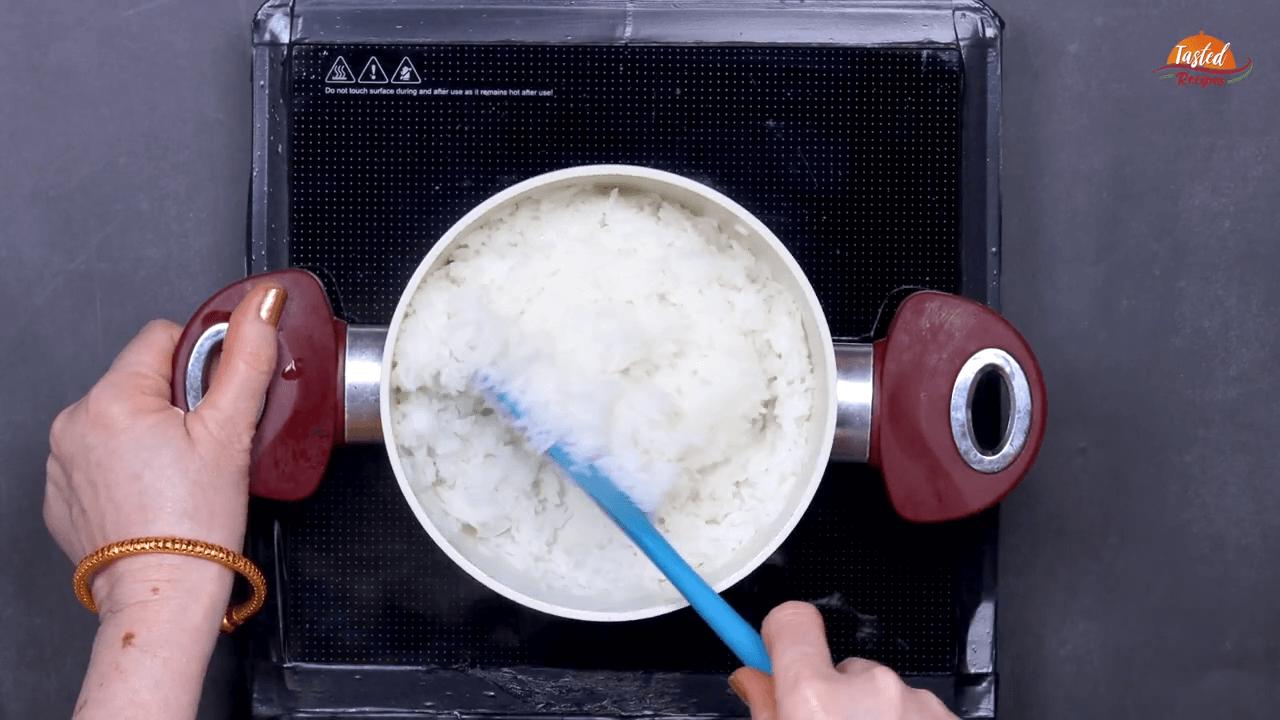 Beetroot Curd Rice step-1
