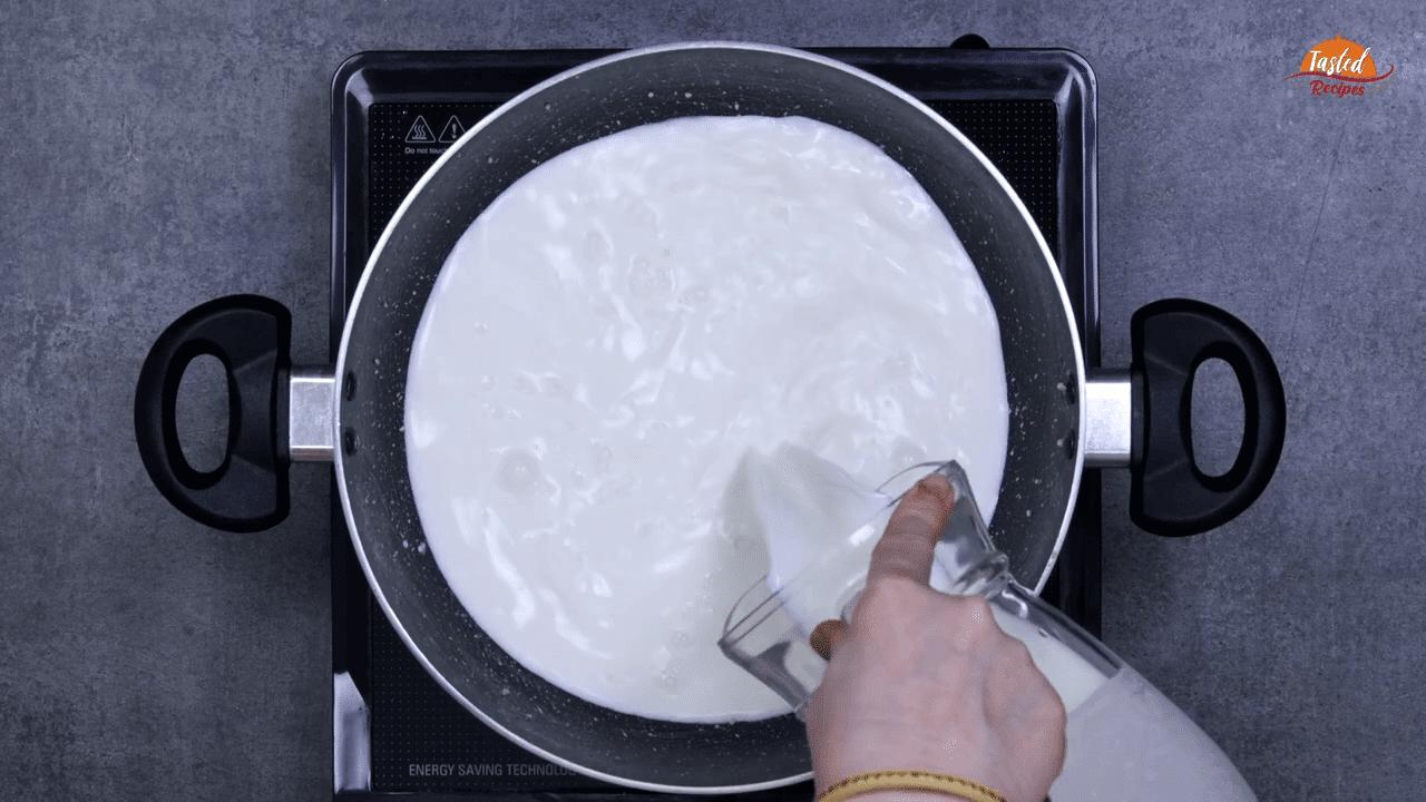 Condensed Milk Without Milk Powder step-2