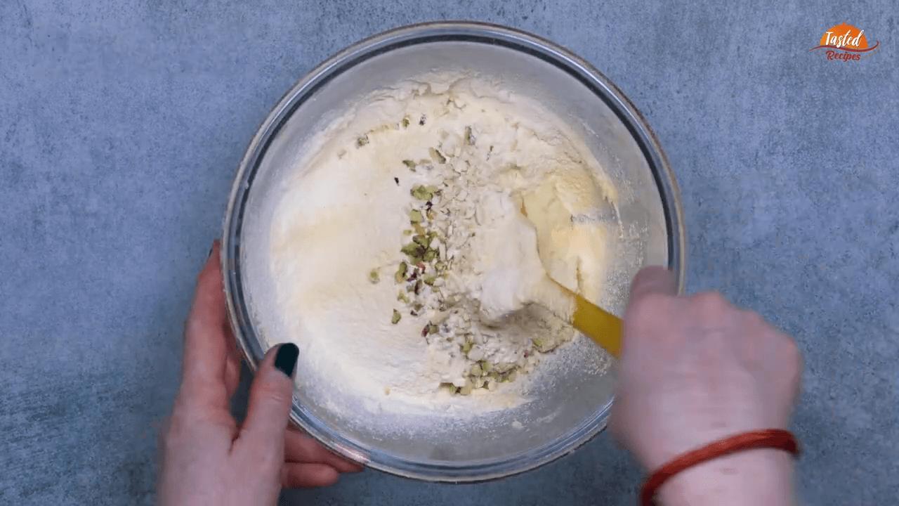 Kaju Pista Cookies step-3