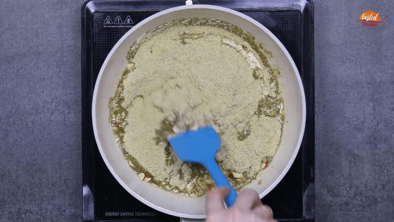 green moong ladoo step-4