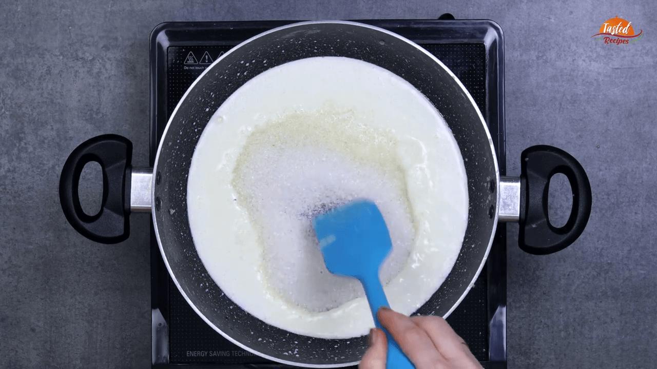 Condensed Milk Without Milk Powder step-5