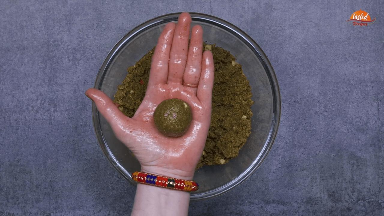 green moong ladoo step-7