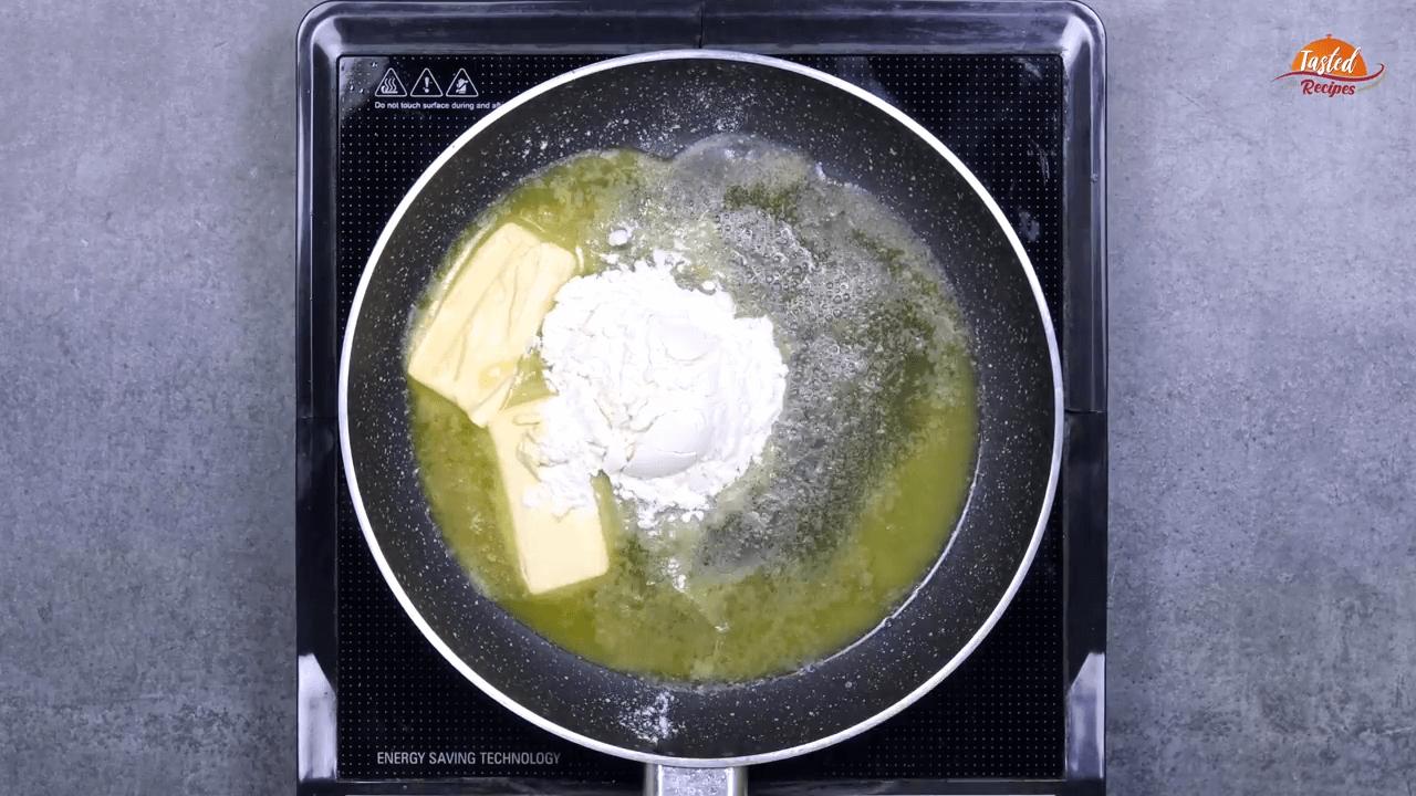 creamy white sauce step-2