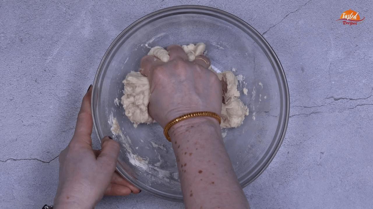 cheesy garlic bread step-2
