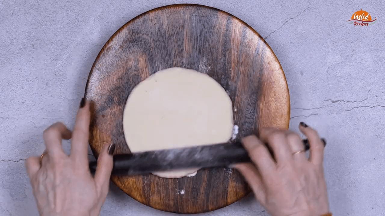 cheesy garlic bread step-6