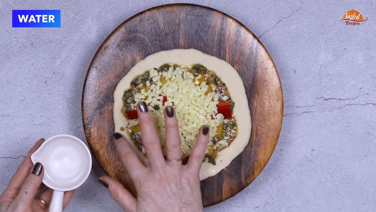 cheesy garlic bread step-8
