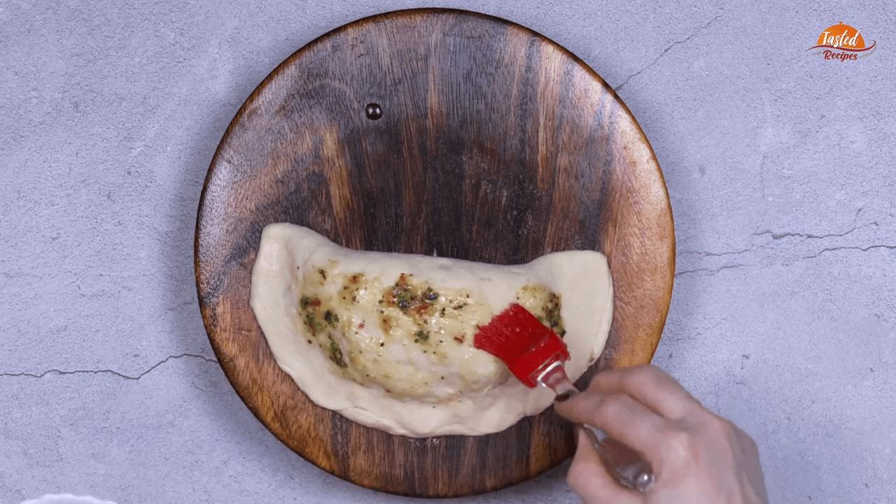 cheesy garlic bread step-9