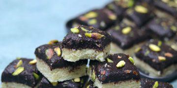 Double Layer Chocolate Mawa Barfi