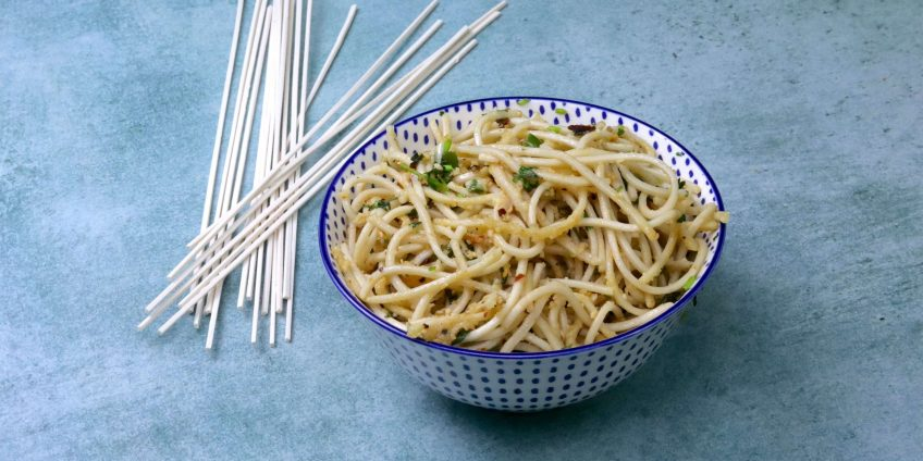 Easy Noodles Recipe with Cheese