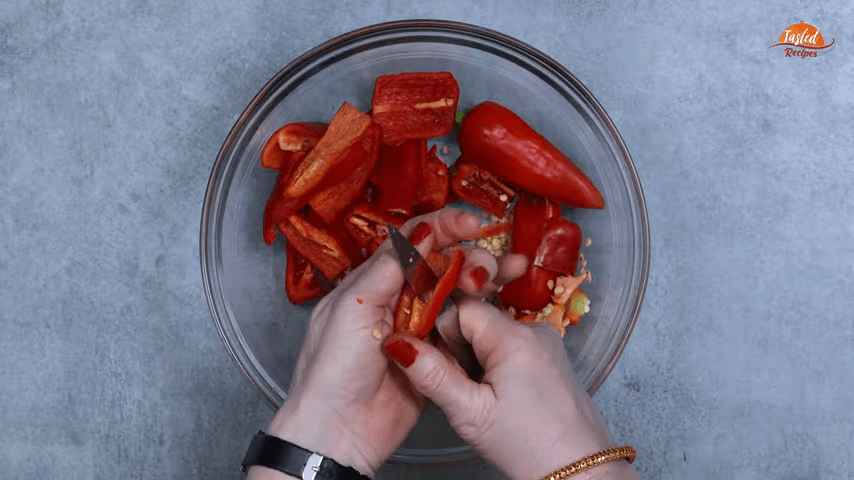 Red Chili Pickle step-1