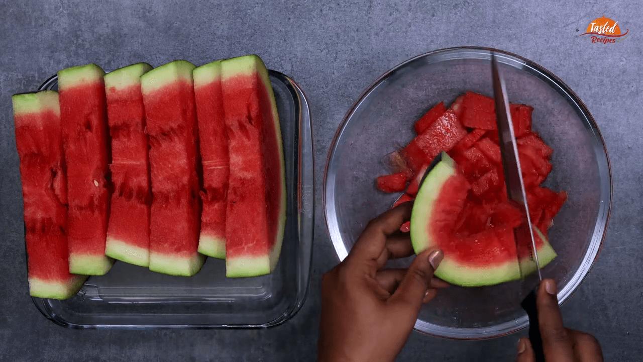 Watermelon Juice step-1