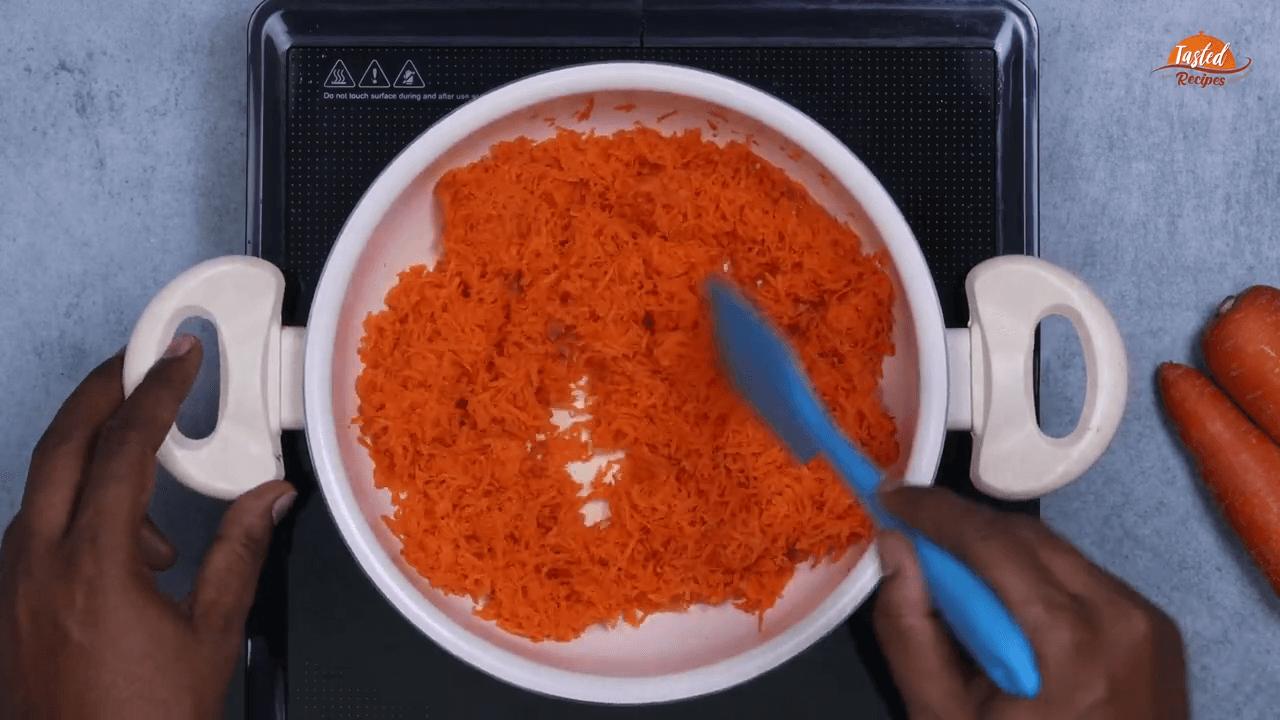 Carrot Kheer step-1