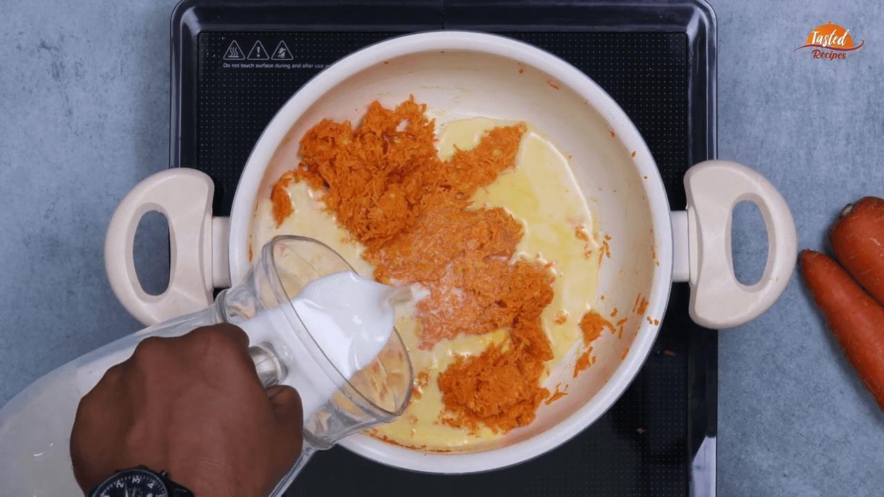 Carrot Kheer step-3