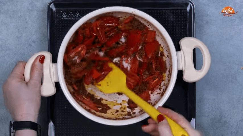 Red Chili Pickle step-4