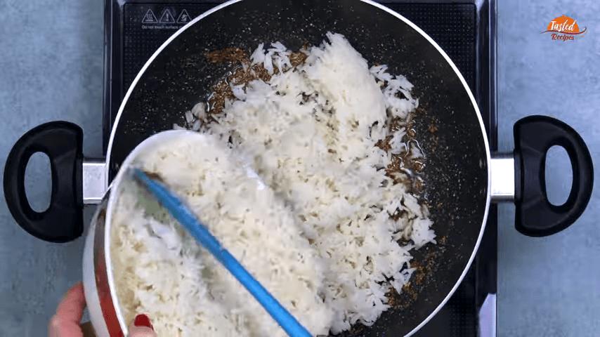 Masala Jeera Rice step-5