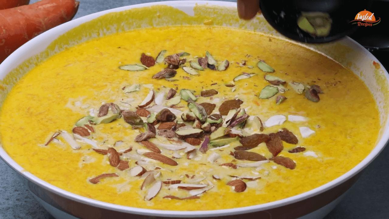 Carrot Kheer step-6