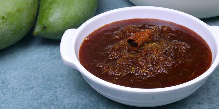 Mango Murabba with jaggery without sugar