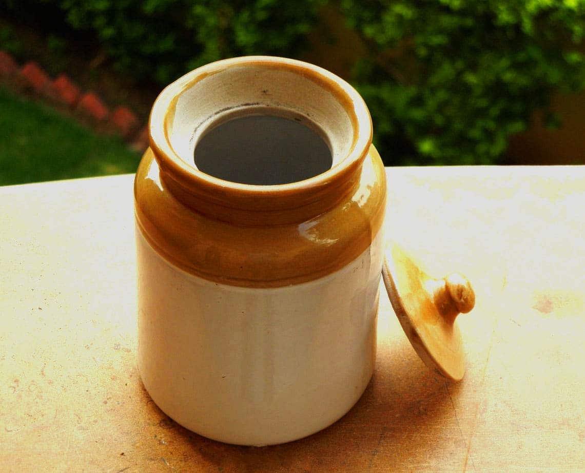 ceramic jar for murabba