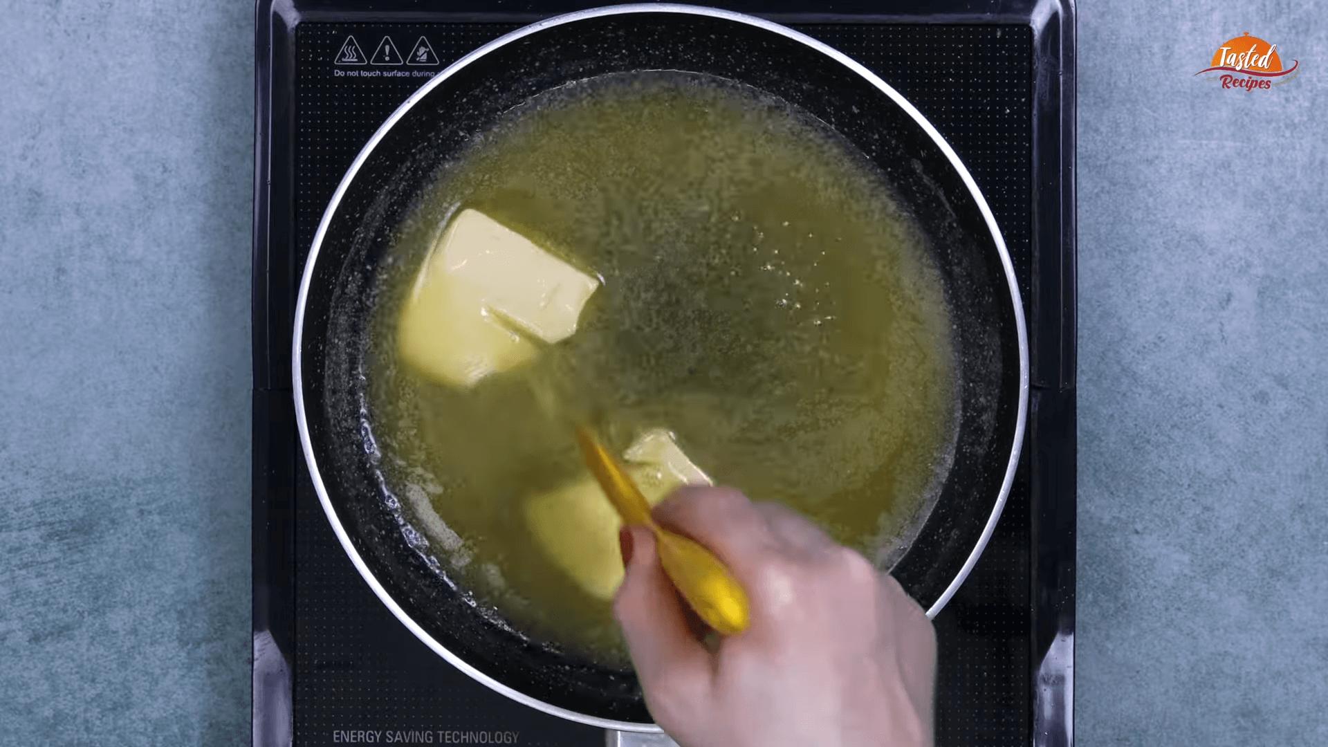 Garlic Mushrooms step-1