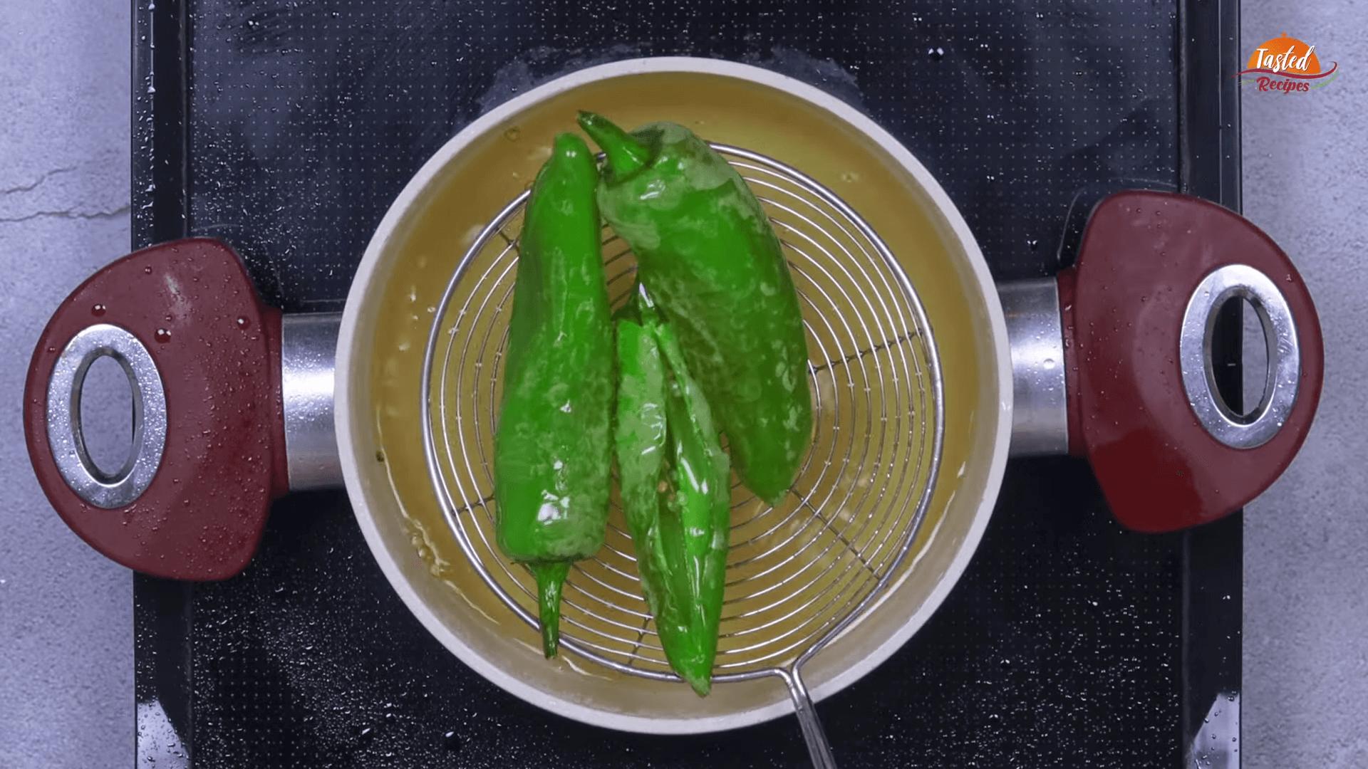 Hyderabadi Mirchi Salan step-1