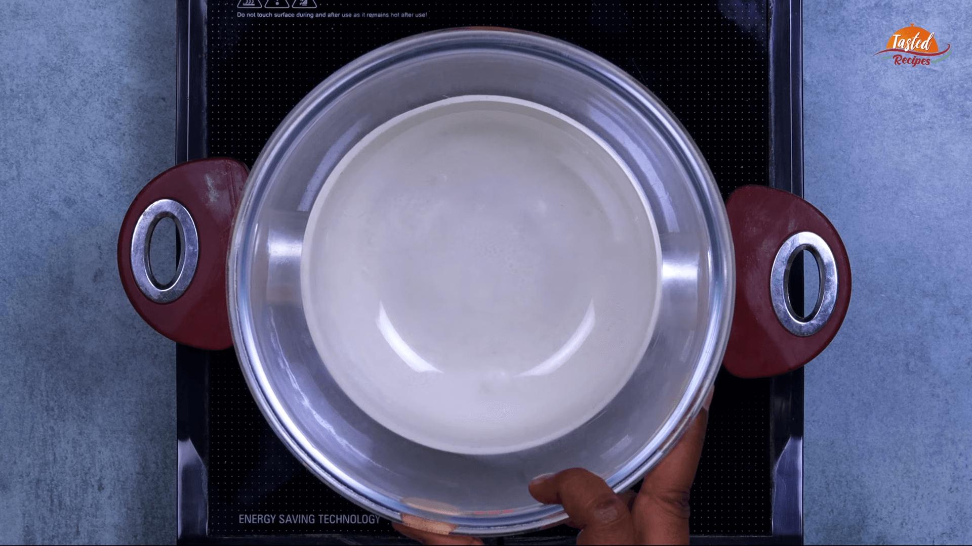 Chocolate Mawa Barfi step-4
