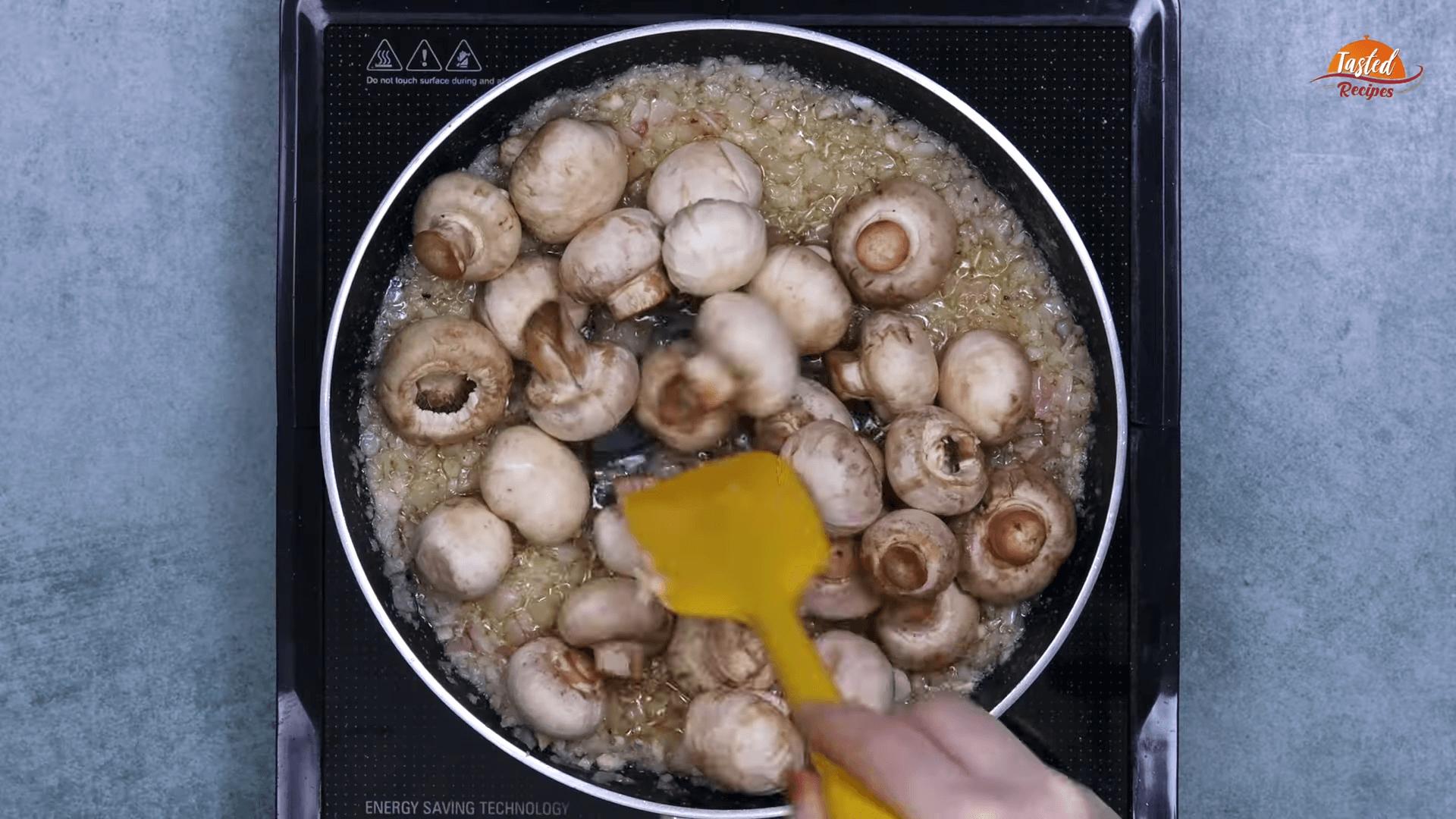 Garlic Mushrooms step-4