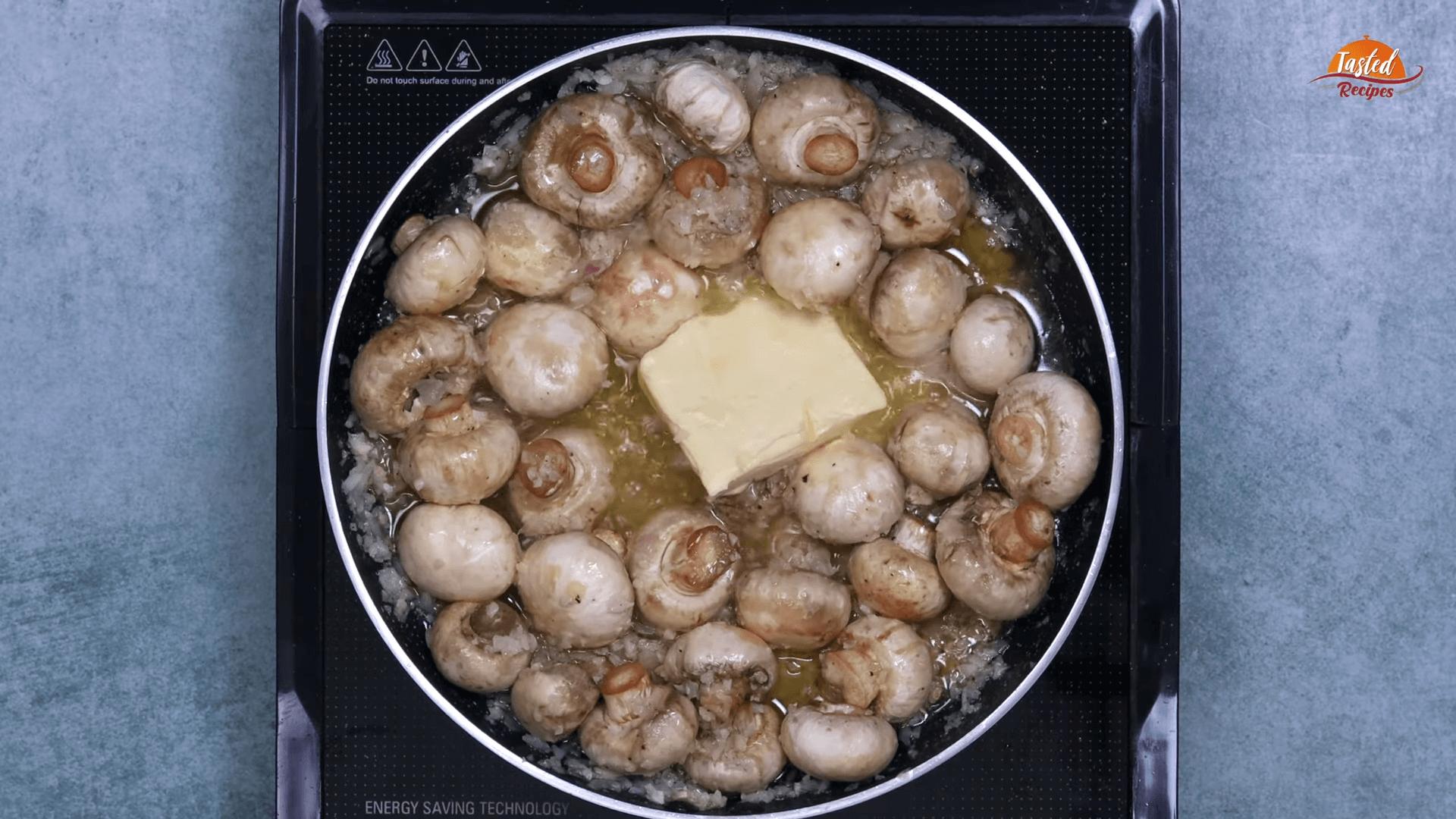 Garlic Mushrooms step-5