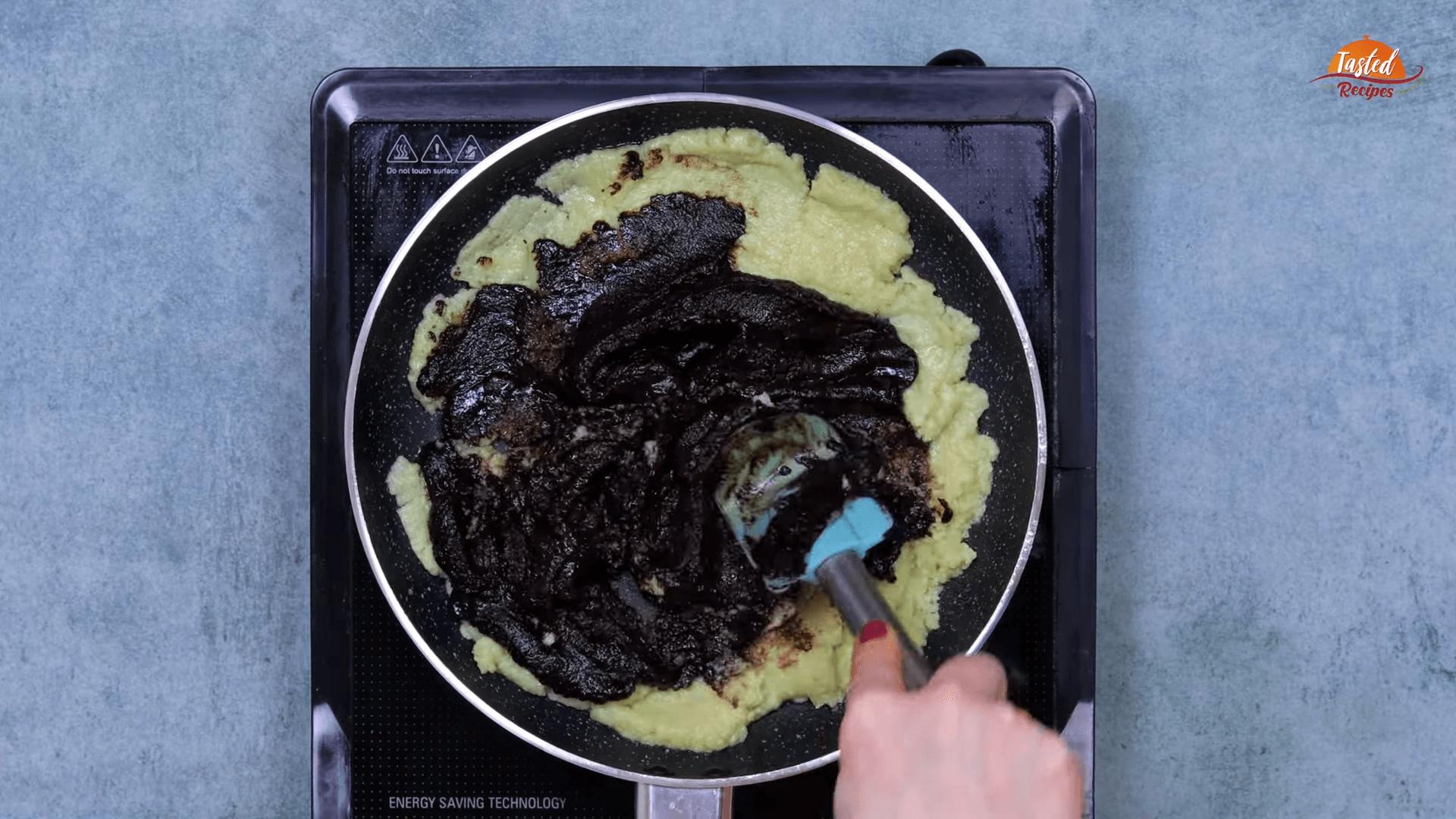 Chocolate Mawa Barfi step-6
