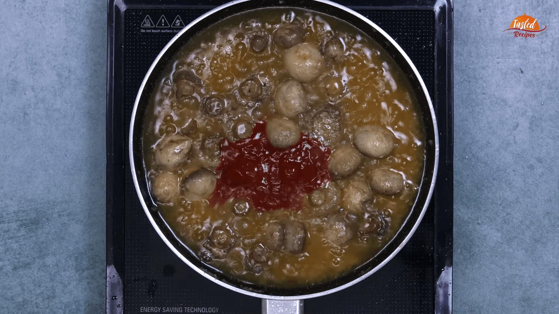 Garlic Mushrooms step-6