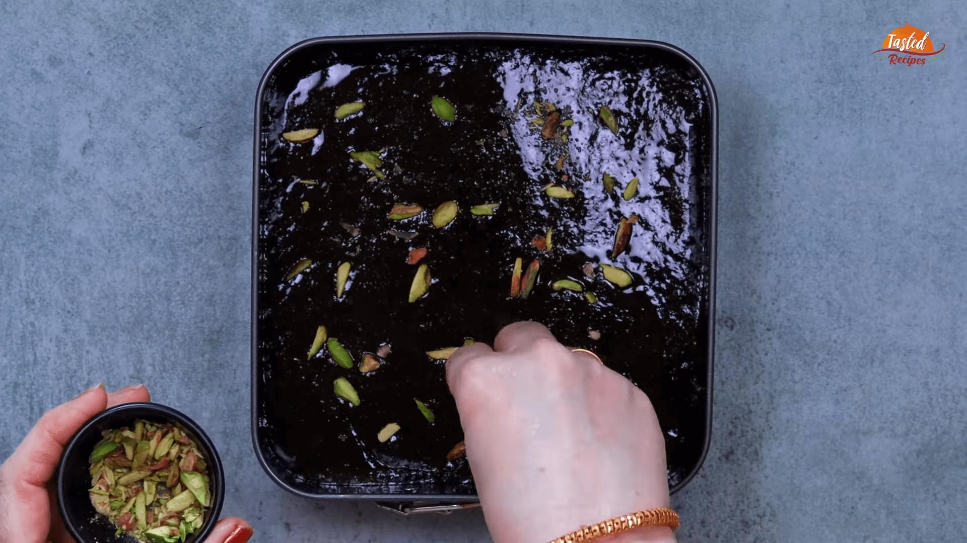 Chocolate Mawa Barfi step-7