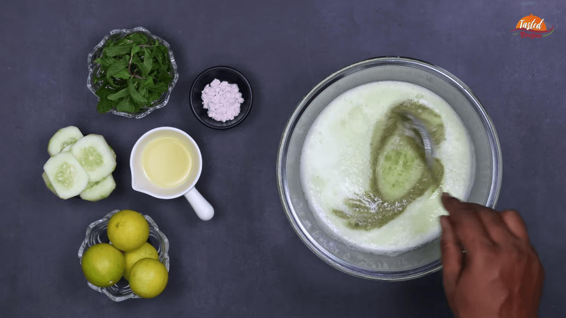 cucumber lemonade step-2