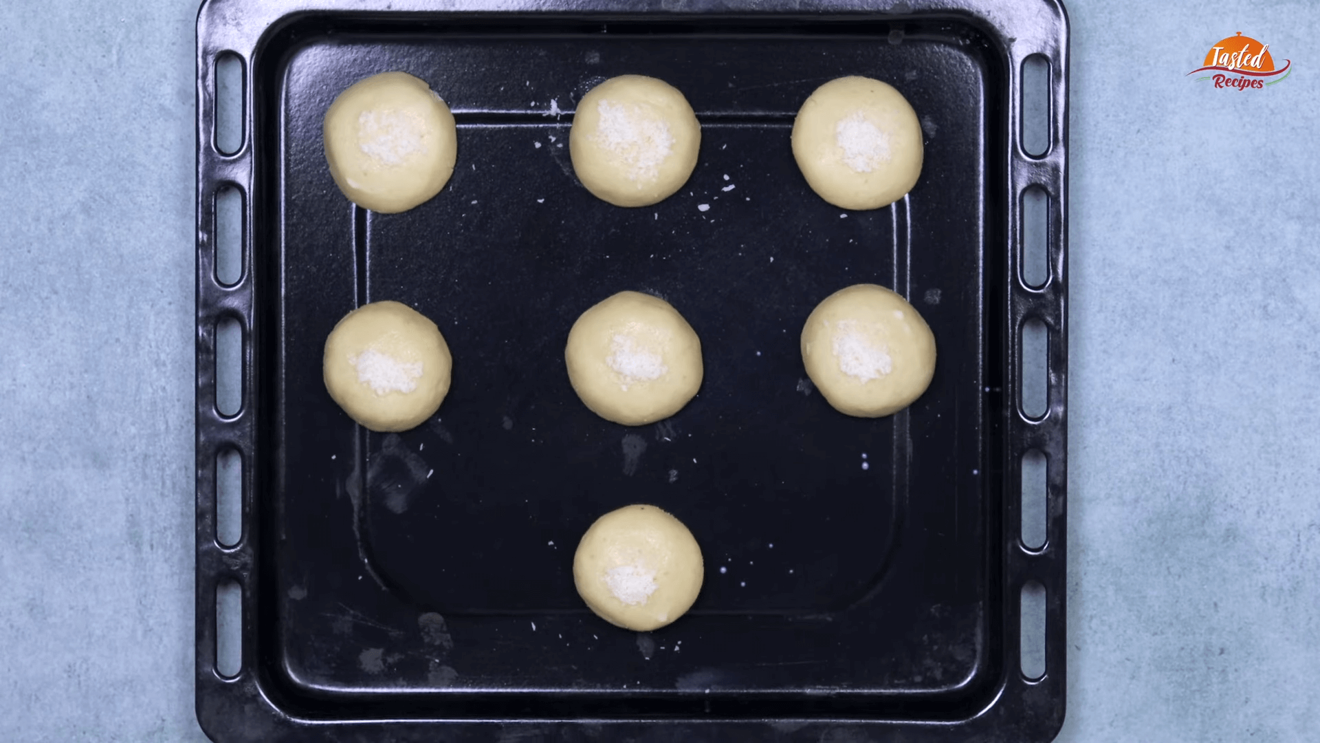 Eggless Coconut Cookies step-4