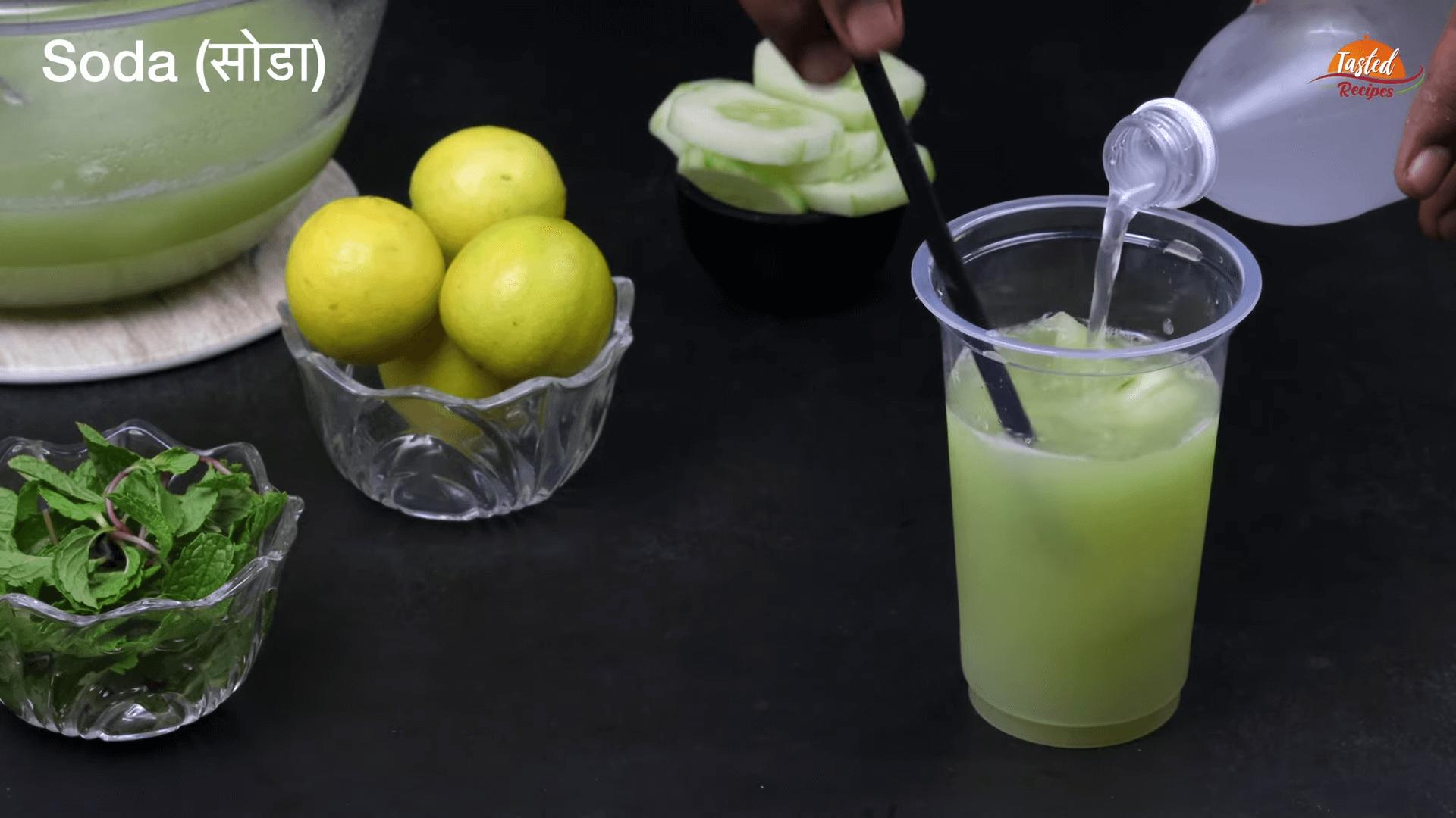 cucumber lemonade step-4
