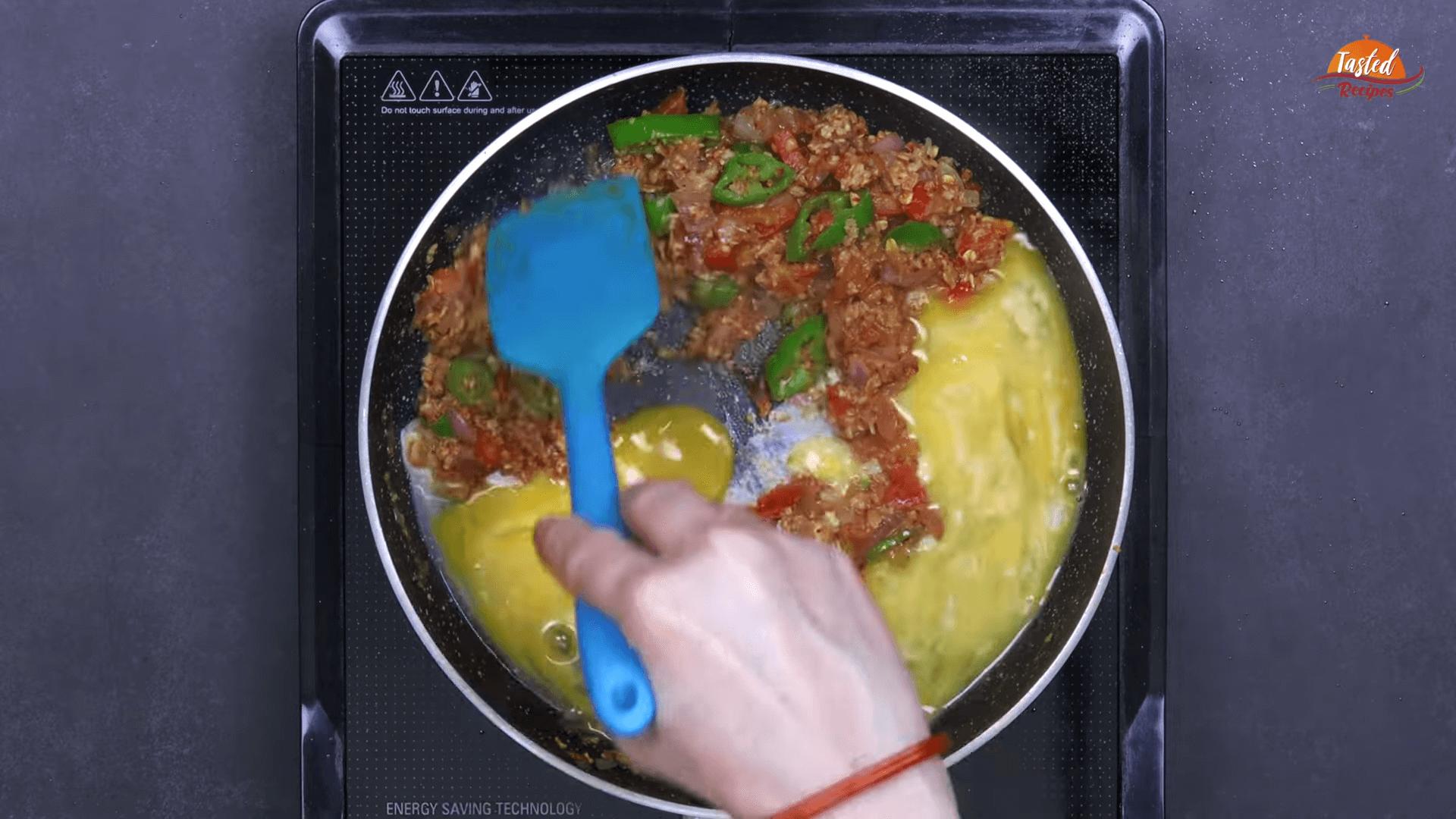 Oats Scrambled Eggs step-6