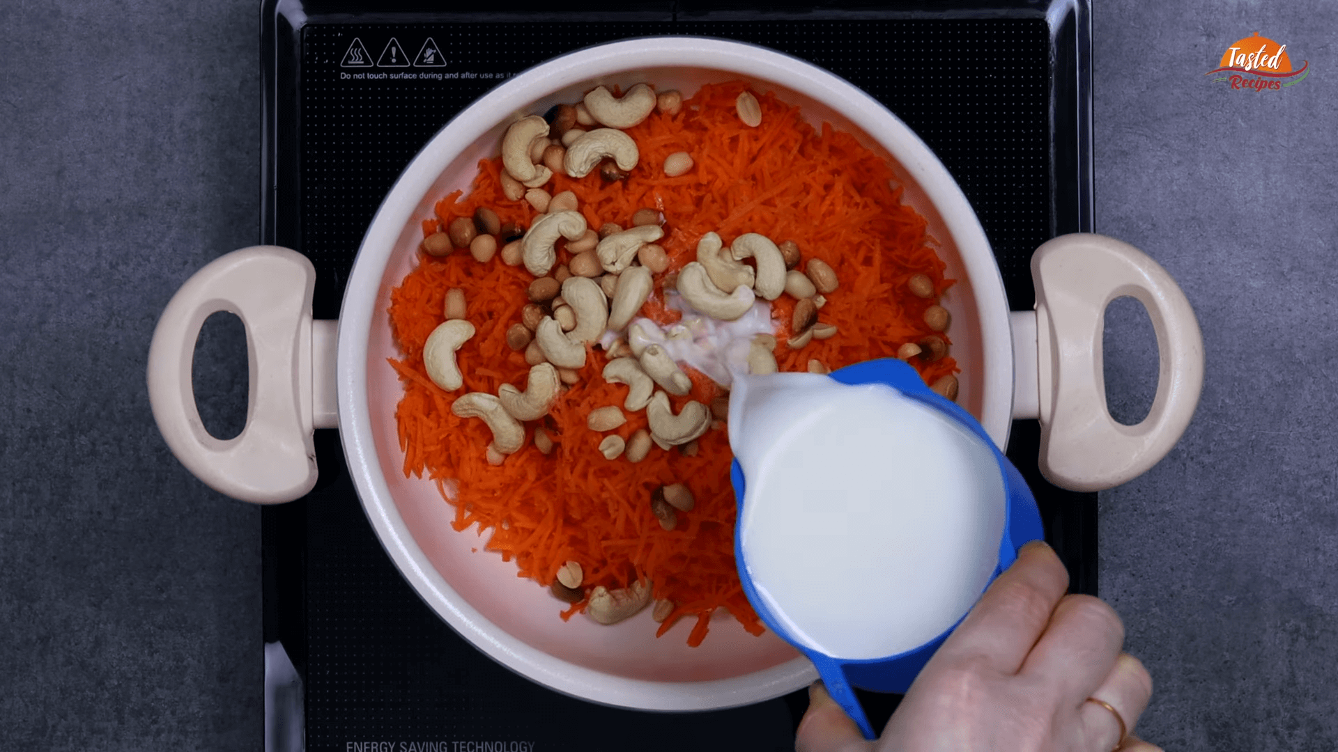 Carrot Pudding step-1