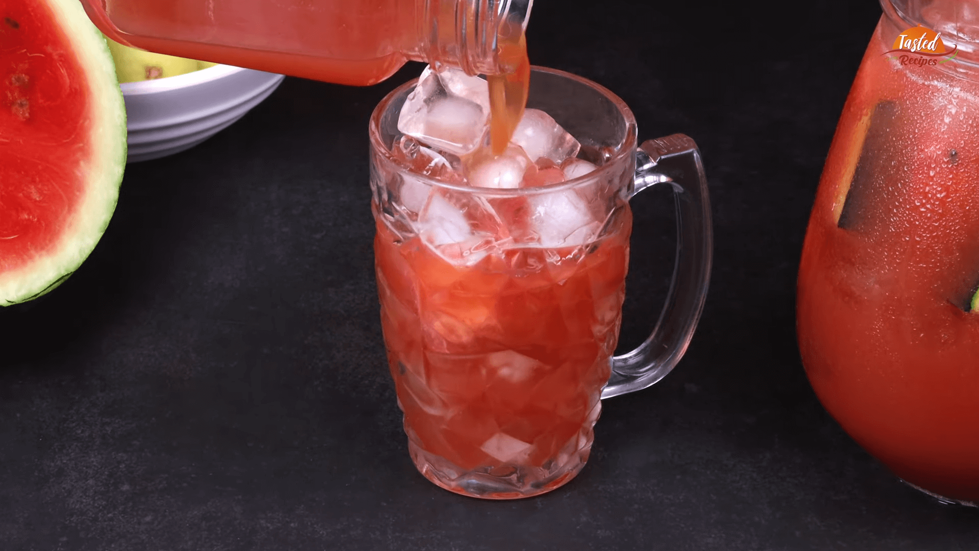 Watermelon Ice Tea step-8