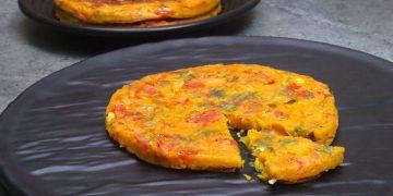 tomato omlelette